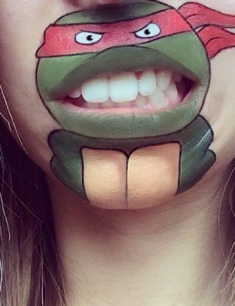 Instagram senzacija: Likovi iz crtanih na usnama