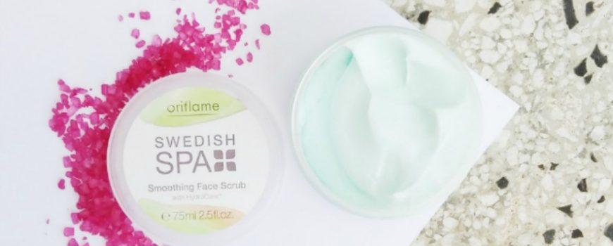 Backstage Muse: Swedish Spa piling za lice i Pure Skin sredstvo za umivanje