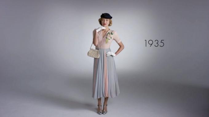moda kroz godine Video: Transformacija mode u 100 godina