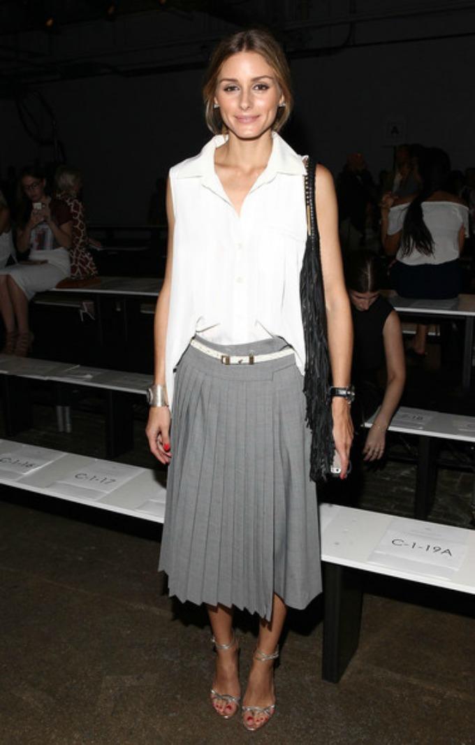 plisirana suknja 1 Kako da nosite plisiranu suknju ove sezone