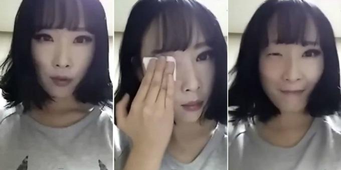 skidanje sminke Kako šminka ulepšava