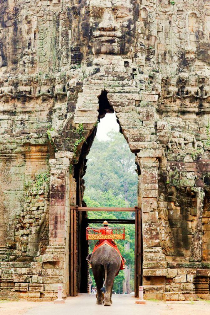 Angkor Kambodža Destinacije koje morate posetiti bar jednom u životu