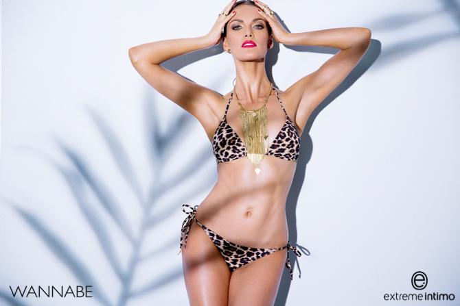 Extreme intimo SS2015 a 2 Extreme Intimo modni predlog: Seksi modeli i animal print