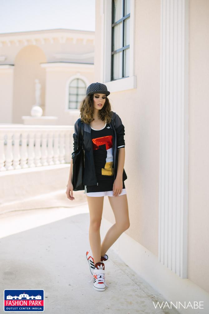Fashion park outlet center Indjija modni fashion predlog Wannabe magazine 1 Fashion Park Outlet Inđija modni predlog: Stilizovana za letnji trening