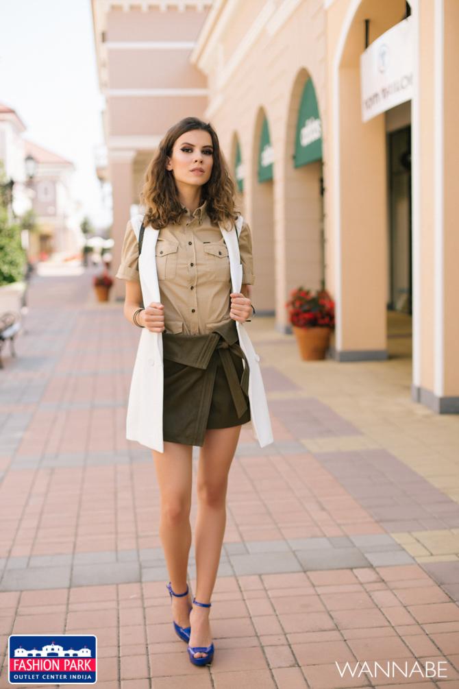Fashion park outlet center Indjija modni fashion predlog Wannabe magazine 21 Fashion Park Outlet Inđija modni predlog: Urbani letnji outfit