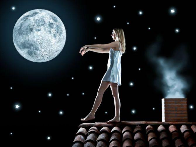 Mesecarenje Neobične aktivnosti tokom sna
