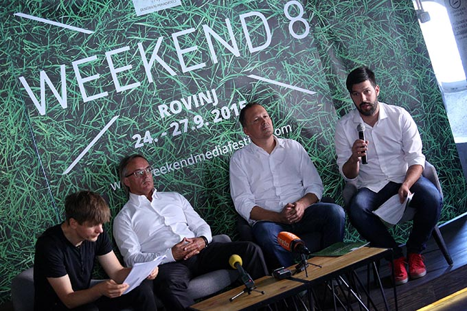 Nikola Vrdoljak najavio je zanimljive predavače i radionice Weekend Media Festival donosi novi pogled na biznis i industriju