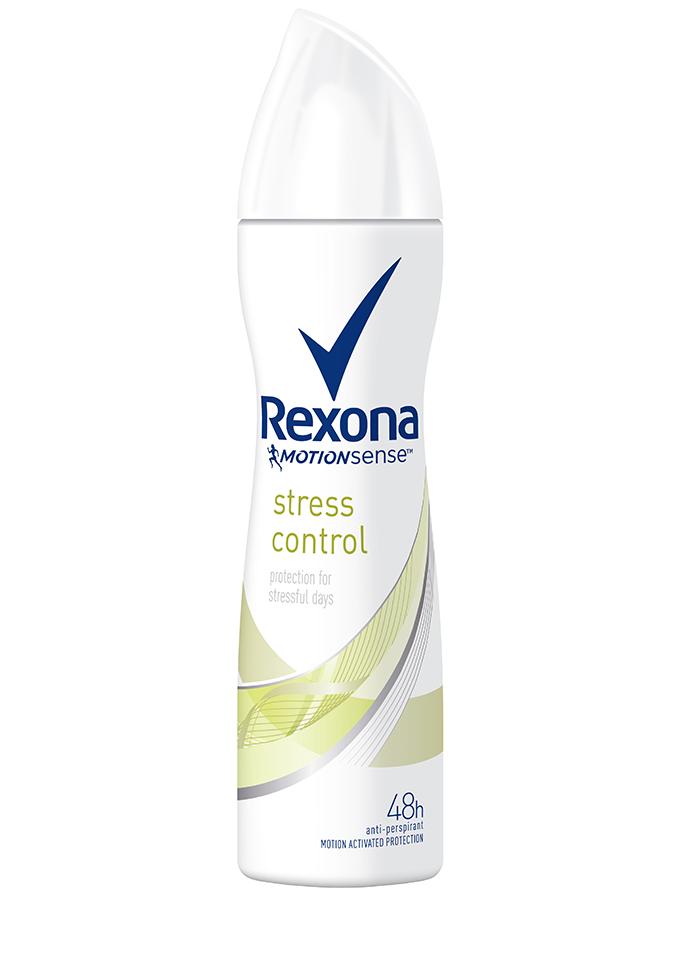 Rexona Women Stress Control Aerosol 150ml 2 Kako da kontrolišeš znoj prouzrokovan stresom?