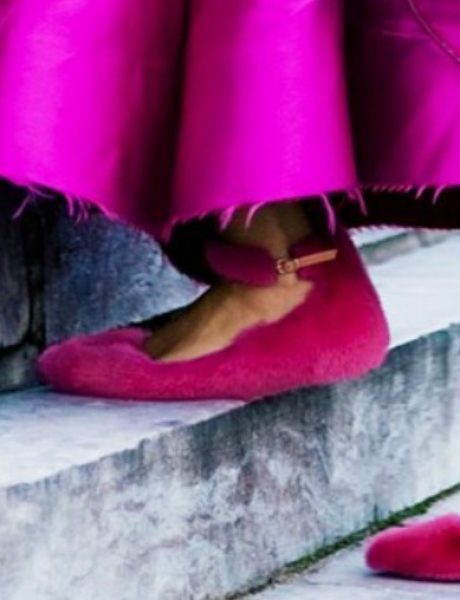 Da li biste nosile cipele ukrašene krznom?