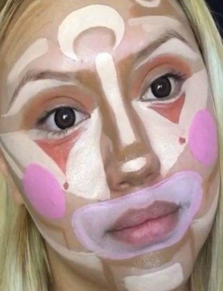 """Clown Contouring"": Nova tehnika šminkanja koju moraš probati"