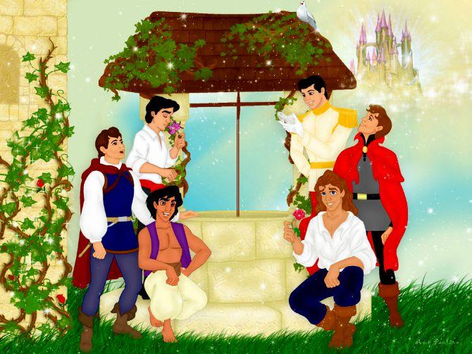 diznijevi junaci Kako bi Diznijevi prinčevi izgledali da su stvarni