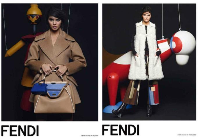 kendal dzener kampanja fendi 1 Kendal Džener u novoj kampanji modne kuće Fendi