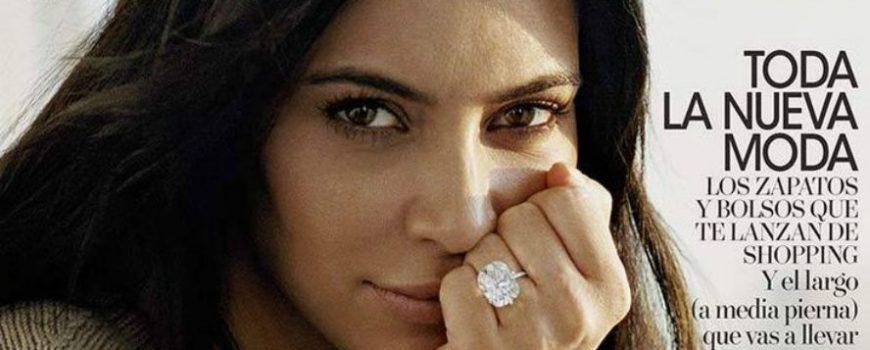 """Kim Kardašijan bez šminke na naslovnici magazina """"Vogue Spain"""""""
