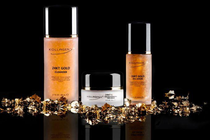 kollagen x zlatni gel 1 Profesionalni zlatni gel za čišćenje lica