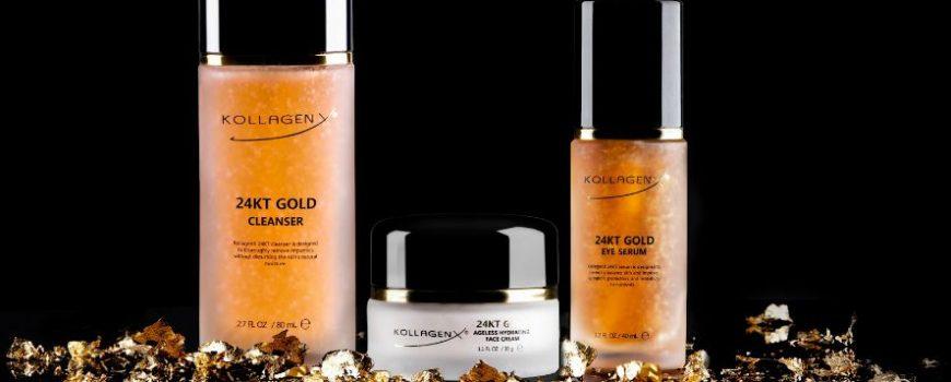 Profesionalni zlatni gel za čišćenje lica