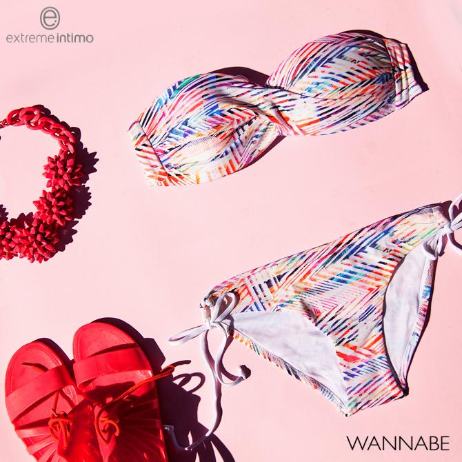 modni predlog Extreme intimo Wannabe magazine kolaz Extreme Intimo modni predlog: Leto išarano prugama i printovima