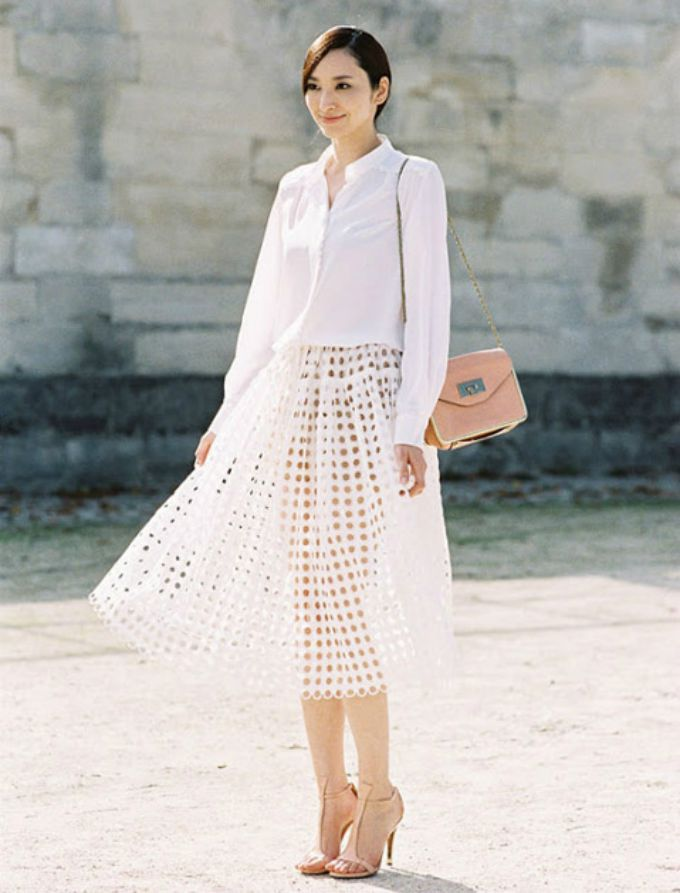 monohromatske odevne kombinacije 4 Monohromatske odevne kombinacije idealne za leto