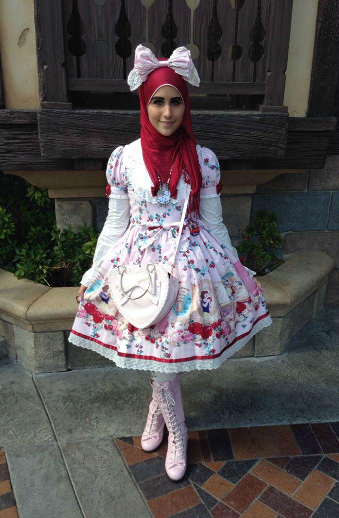 muslimanska lolita 5 Novi modni trend: Japanska Lolita na muslimanski način