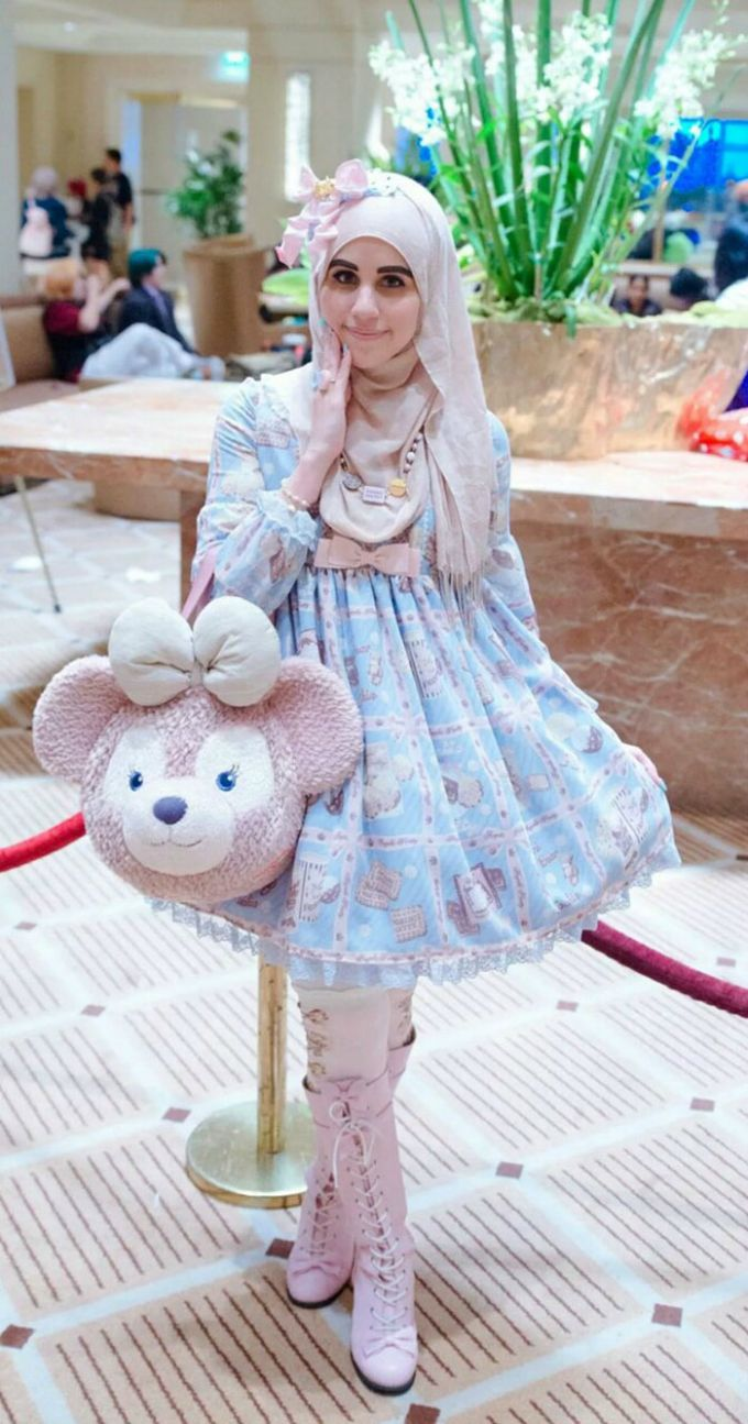 muslimanska lolita 6 Novi modni trend: Japanska Lolita na muslimanski način