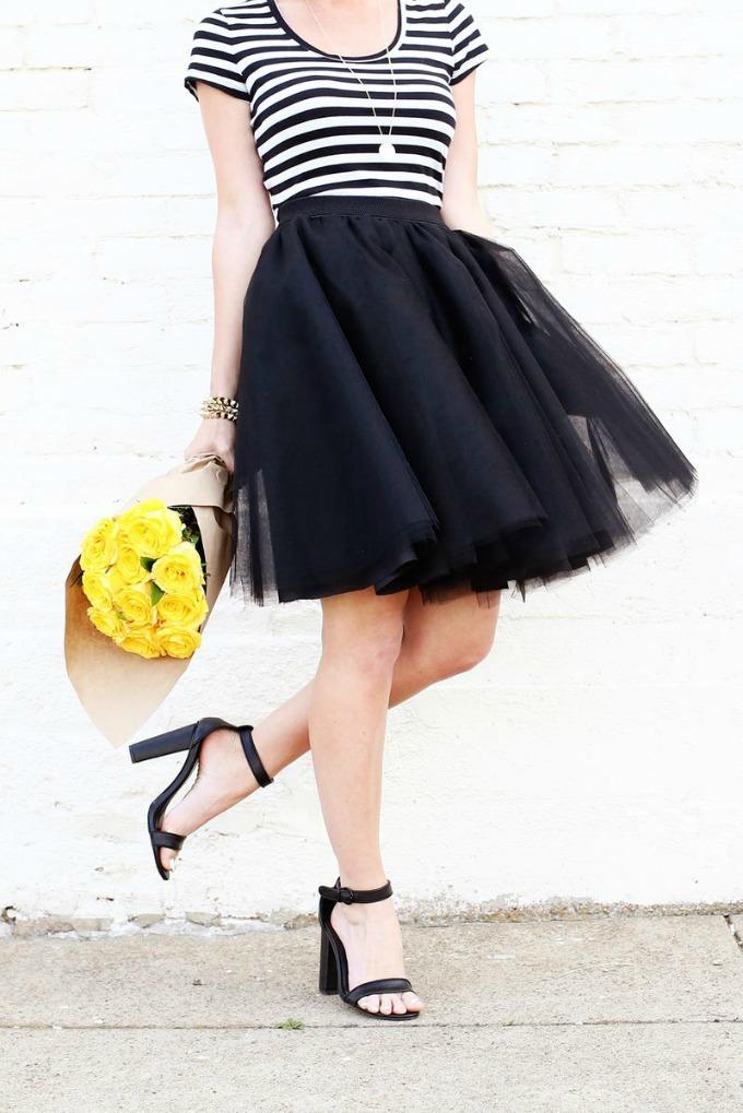 napravi sama suknju od tila 1 Tutorijal: Napravi sama suknju od tila