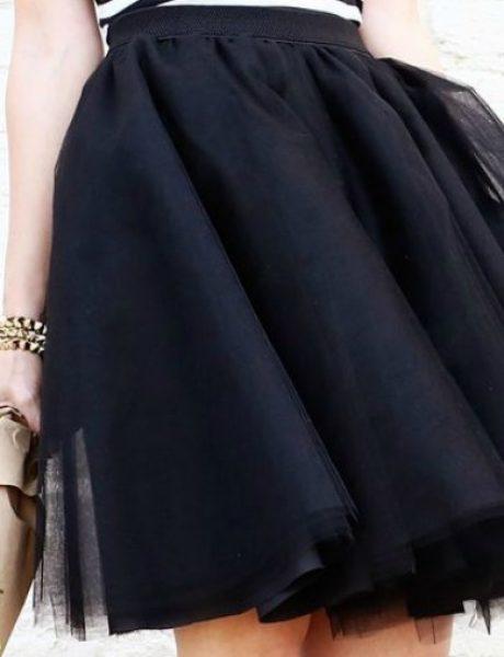 Tutorijal: Napravi sama suknju od tila