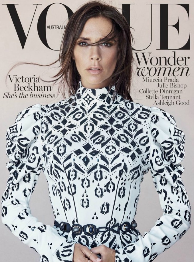 viktorija bekam vogue australia 1 Viktorija Bekam blista na naslovnici magazina Vogue Australia