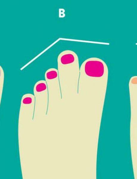 Šta prsti na nogama otkrivaju o tvom karakteru
