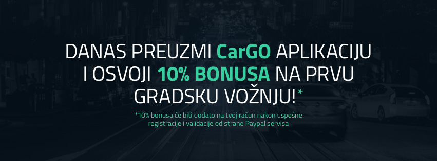 CarGo fbcover Revolucija u urbanom prevozu u Beogradu