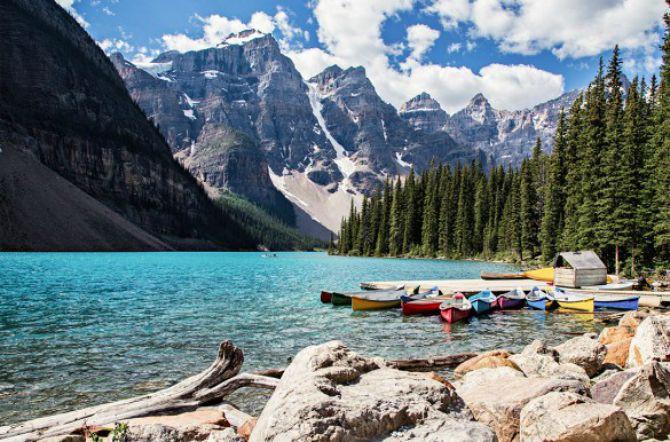 Nacionalni Park Banff Kanada Najlepši nacionalni parkovi na svetu