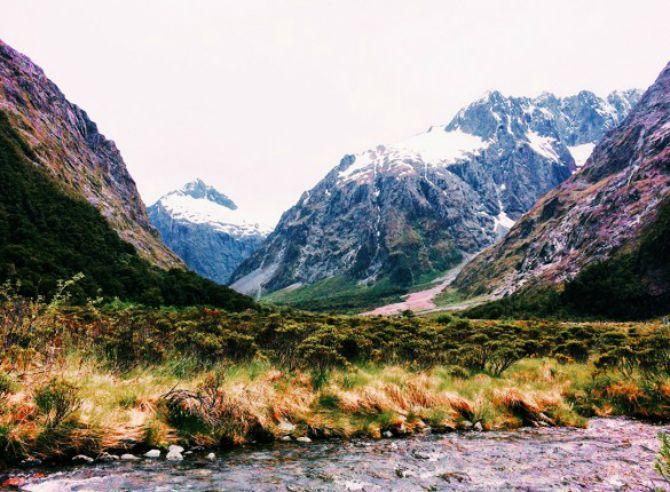 Nacionalni Park Fiordland Novi Zeland Najlepši nacionalni parkovi na svetu
