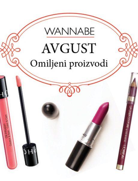 Omiljeni proizvodi za avgust