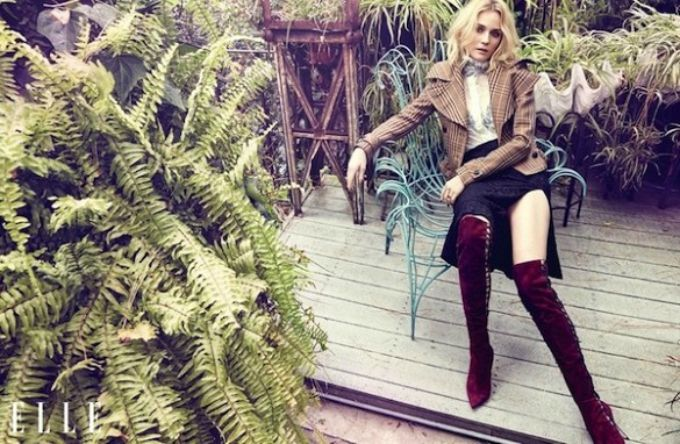 diane kruger elle canada 2 Dajen Kruger zvezda septembarskog izdanja magazina Elle Canada
