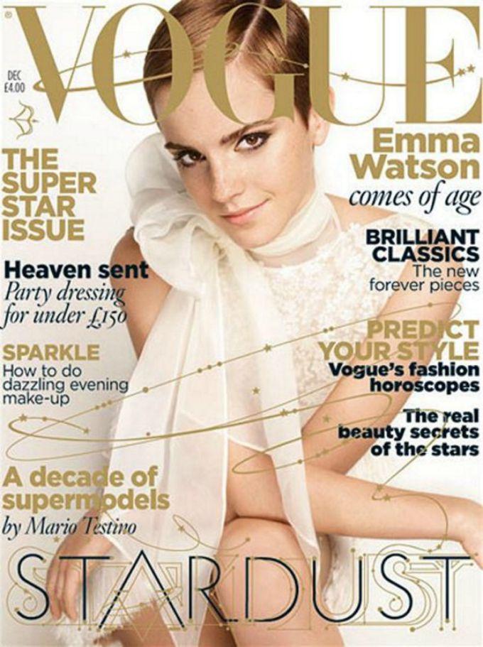ema votson 1 Ema Votson na naslovnici septembarskog izdanja Vogue a