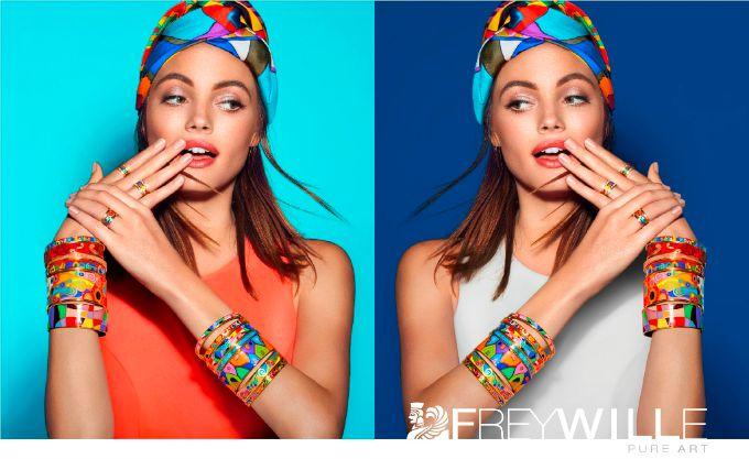 freywille nakit 1 Prelepa Kristina Perić u novoj Freywille kampanji
