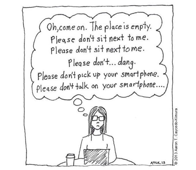 introvertni crtezi 6 Kako izgleda život introvertnih na crtežima