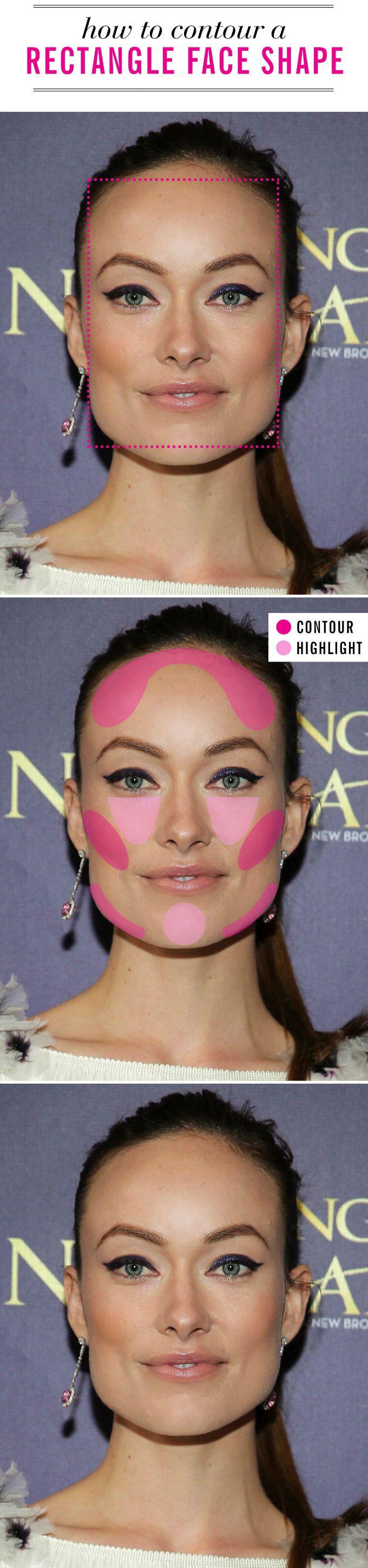 konturisanje lica 5 Kako da pravilno konturišeš lice prateći njegov oblik