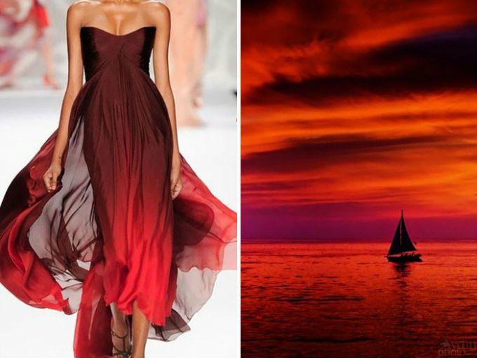 moda i priroda 1 Da li su dizajneri inspiraciju za ove haljine našli u prirodi?