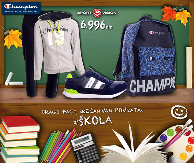 muski paket 1024x860 Back to School: Nemojte propustiti Champion ponudu u Sport Vision prodavnicama