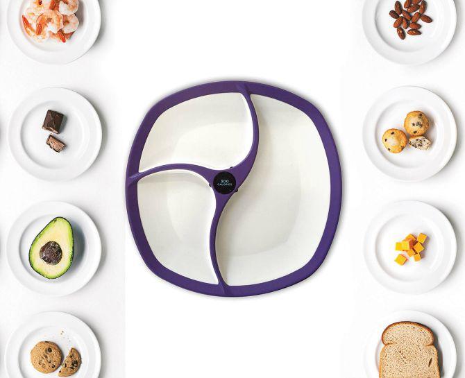 pametni tanjiri1 Neverovatno, ali ovo posuđe broji kalorije