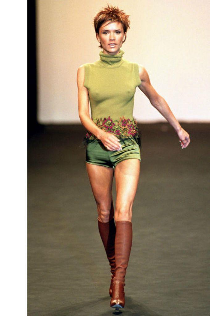 poznate lepotice kao manekenke 2 Poznate lepotice kao manekenke na modnoj pisti