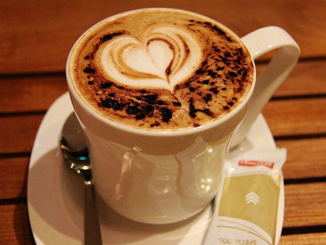 srce u kafi Napravite sami savršene oblike u kafi