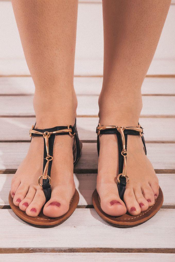 wannabe shop sandale safran 1 Wannabe Shop: Ravne sandale za svaku priliku