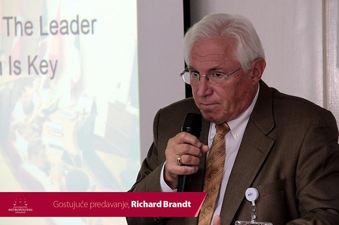 9 Održano predavanje gospodina Ričarda Branta na Univerzitetu Metropolitan