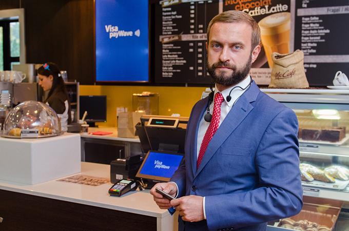 Andriy Shcherbina direktor razvoja novih proizvoda i inovacija kompanije Visa CIS i SEE Beskontaktno plaćanje od sada i u McDonalds restorane u Srbiji