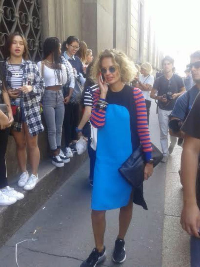 Milan Fashion Week street style Ekskluzivno: Prvi dan Milan Fashion Week a