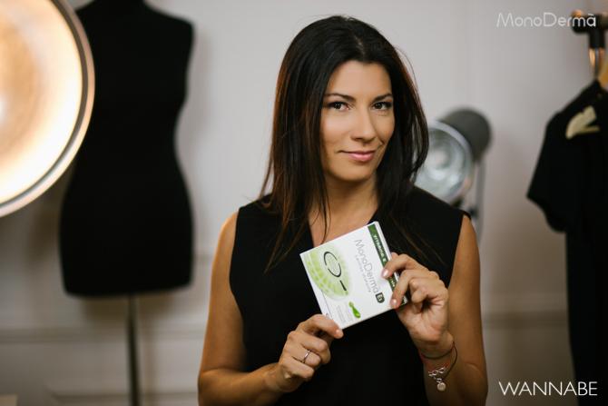Monoderma wannabe Milena Vasic 1 Koja je tajna blistave kože glumice Milene Vasić?