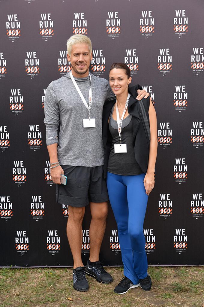 Nikola Rokvic i Bojana Barovic Poznati na We Run Belgrade trci