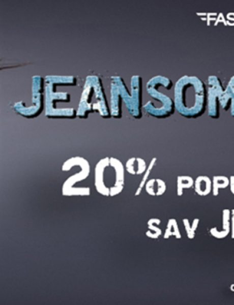 Vikend Jeansomania u prodavnicama Fashion Company