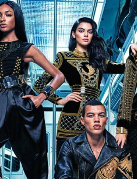 Kendal, Džidži i Džordan u zajedničkoj kampanji brendova Balmain i H&M
