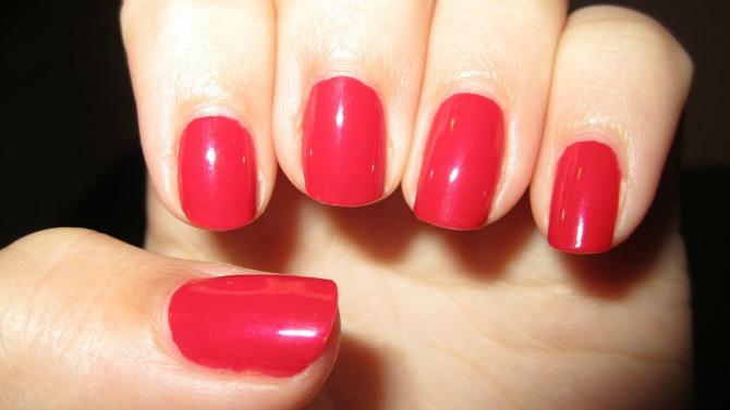crveni lak1 Izaberi boju laka za nokte prema horoskopskom znaku
